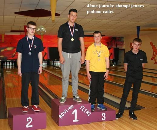 podium cadet