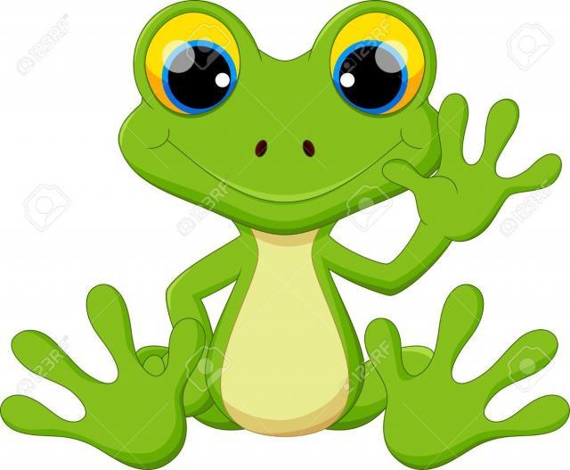 55360481 seance de dessin anime grenouille mignon